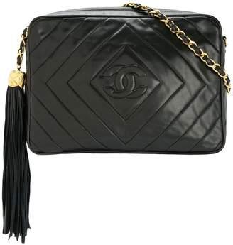 9bb8e5fdf Chanel Pre-Owned CC fringe quilted shoulder bag