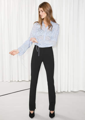 And other stories Skinny Flare Trousers