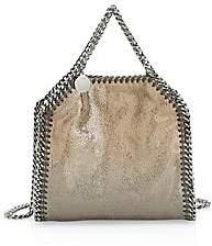 Stella McCartney Women's Tiny Falabella Metallic Degradé Hobo Bag