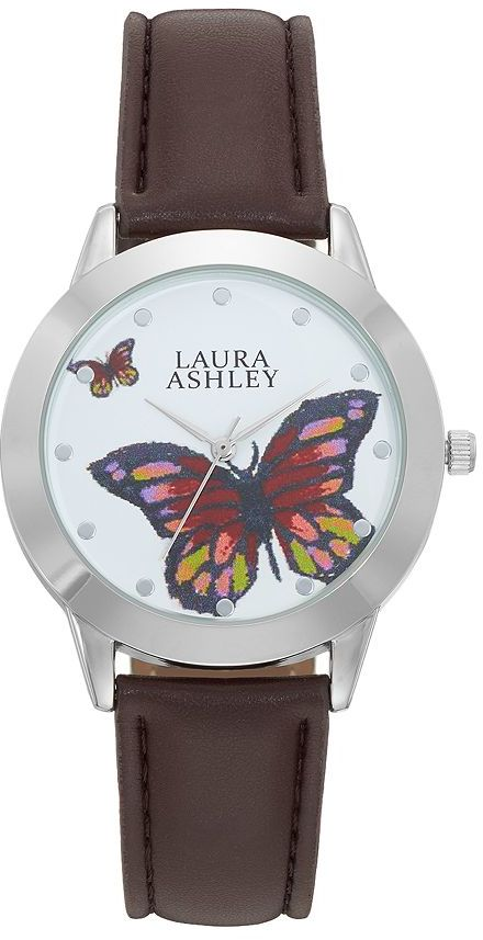 Laura Ashley Laura Ashley Women's Butterfly Watch
