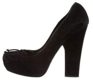 Christian Dior Ballet High-Heel Pumps Black Ballet High-Heel Pumps