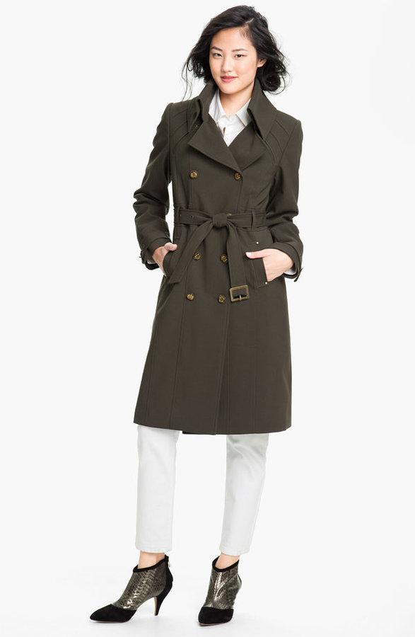 Kristen Blake Double Breasted Trench Coat