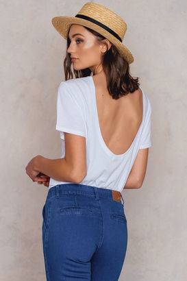 Deep Back Tee $23.69 thestylecure.com