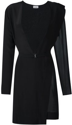 La Perla asymmetric hem dress $1,059 thestylecure.com