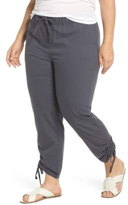 Caslon Side Ruched Ankle Pants