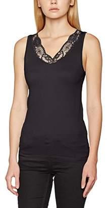 Vero Moda Women's VMJUNE Tank TOP JRS Vest, Black, (S/M)