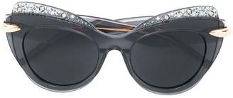 Pomellato Eyewear oversized cat-eye sunglasses