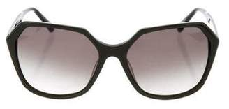 Kate Young for Tura Oversize Gradient Sunglasses