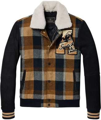 Scotch & Soda Wool & Suede Jacket