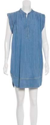 L'Agence Denim Mini Dress