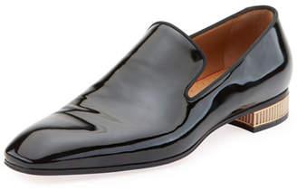 Christian Louboutin Men's Colonnaki Patent Leather Loafer