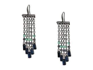 Steve Madden Casted Stone Chandelier Earrings