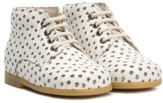 Pépé glitter star pattern boots