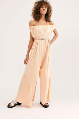 The Endless Summer Fp Beach Mexicali Maxi Off-The-Shoulder Onesie