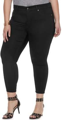 JLO by Jennifer Lopez Plus Size Crop Midrise Super Skinny Jeans
