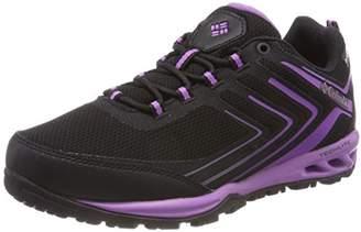Columbia Women's Multisport Shoes, Waterproof, Ventrailia Razor 2, Black (Black/Crown Jewel), Size: 7