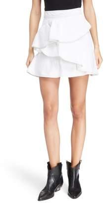 Etoile Isabel Marant Coati Denim Skirt