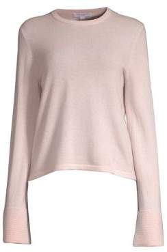 Equipment Cashmere Flare-Sleeve Sweater