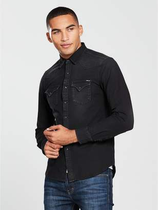 Replay Hyperflex Denim Shirt