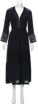 Rebecca Minkoff Long Sleeve Maxi Dress