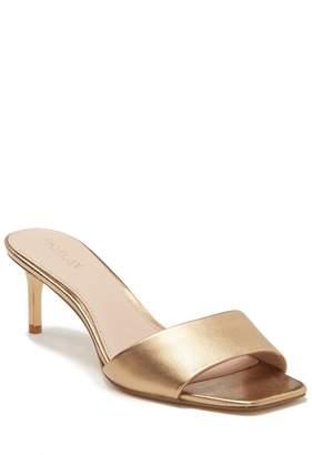 Rachel Zoe Samantha Kitten Heel Slide Sandal
