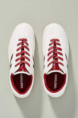 Tretorn Burgundy Nylite Sneakers