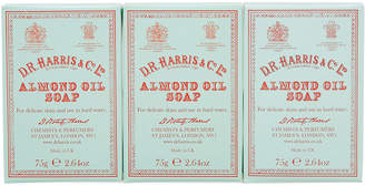 D.R. Harris & Co. Almond Oil Hand Soap - Box of Three