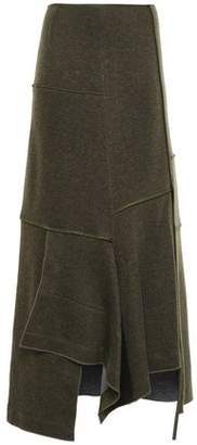 3.1 Phillip Lim Draped Knitted Maxi Skirt