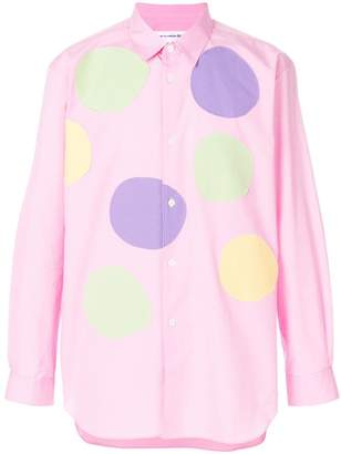 Comme des Garcons spotted shirt