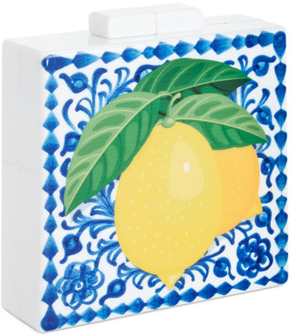 INC International Concepts Addina Lemon Clutch, Only at Macy's $99.50 thestylecure.com
