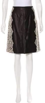Tory Burch Kendra Knee-Length Skirt w/ Tags