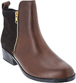 Cougar Leather & Suede Waterproof Ankle Boots -Connect