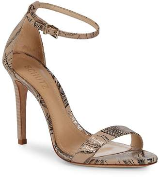 Schutz Women's Cadey Lee Brush Sand Leather Sandals