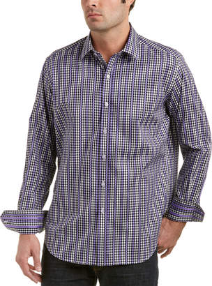 Robert Graham Bartons Bank Classic Fit Woven Shirt