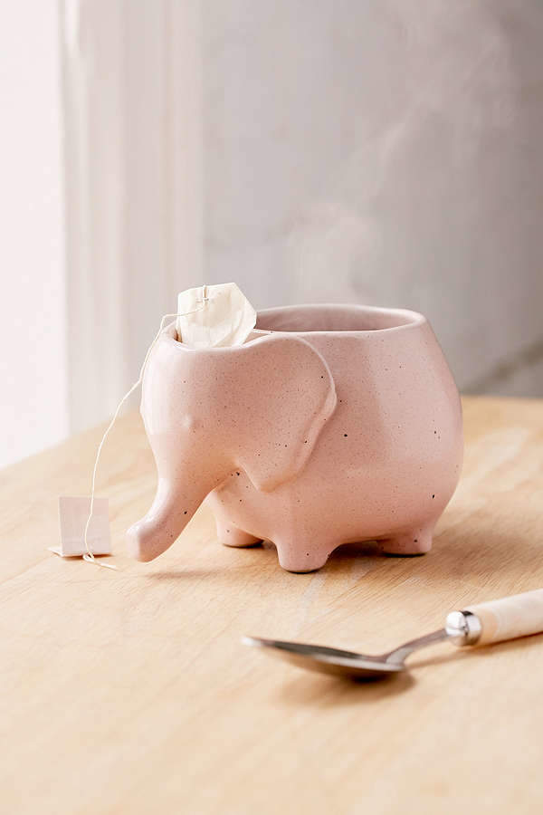 Urban Outfitters Plum & Bow Elephant Tea Mug