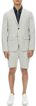 Theory Clinton Urban Stretch-Linen Blazer