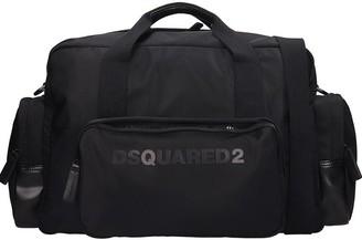 DSQUARED2 Hand Bag In Black Nylon