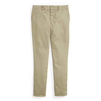 Tommy Hilfiger Adaptive Women's Chino Pants Stretch Adjustable Magnet Buttons