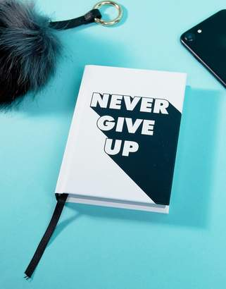 Books Never Give Up Inspirational Quotes Book