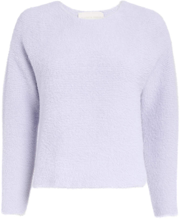 Michelle Mason Lilac Plush Sweater