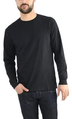 Fruit of the Loom Men's Platinum EverSoft Long Sleeve T-Shirt with Dual Defense, Available up to size 4X