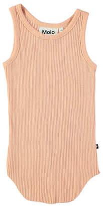 Molo Roberta Rib-Knit Tank Top, Size 3-12