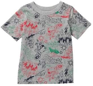 Joe Fresh Short Sleeve Allover Print Tee (Little Boys)