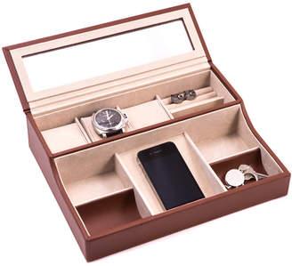 Bey-Berk Bey Berk Leather Valet Box