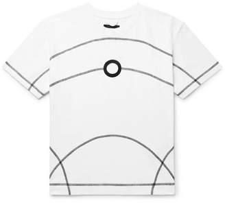 Craig Green Cutout Cotton-Jersey T-Shirt