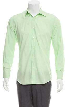 Paul Smith Plaid French Cuff Shirt