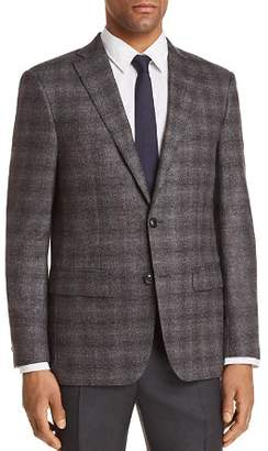John Varvatos Plaid Slim Fit Sport Coat