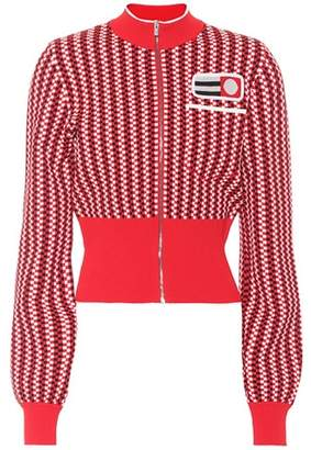 Miu Miu Knitted cropped jacket