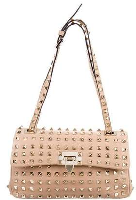 Valentino All Over Rockstud Shoulder Bag