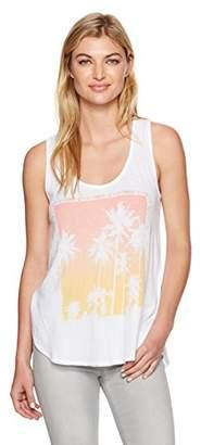 Lucky Brand Women's Palm Tree Tank Top